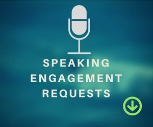 DF SPEAKING ENGAGEMENT REQUESTS